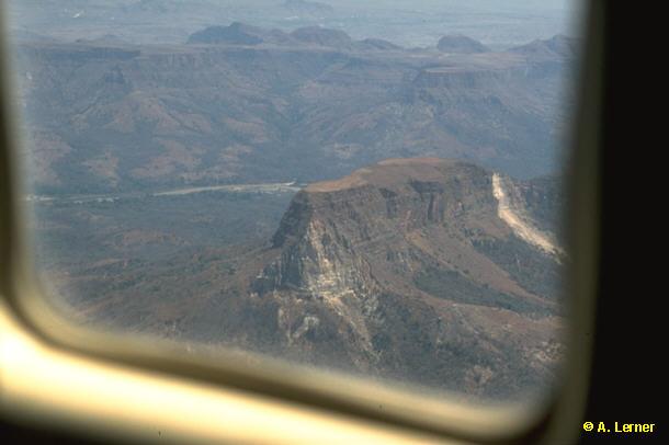Blick zurück auf den Vohimalaza